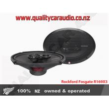 "Rockford Fosgate R169X3 6x9"" 3-Way 130W Coaxial Speakers"