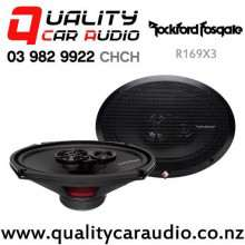 "Rockford Fosgate R169X3 6x9"" 130W (65W RMS) 3-way Coaxial Car Speakers (pair) with Easy Finance"