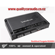 Rockford Fosgate R250X4 250W 4/3/2 Channels Bridgeable Mosfet Power Car Amplifier with Easy Layby