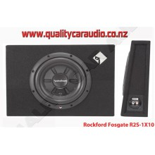"ROCKFORD FOSGATE R2S-1X10 PRIME 10"" 400W SHALLOW LOADED ENCLOSURE"