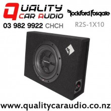 "Rockford Fosgate R2S-1X10 10"" 400W (200W RMS) Sealed Truck Style Car Subwoofer with Easy Finance"