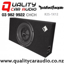 "Rockford Fosgate R2S-1X12 12"" 500W Prime Shallow Loaded Enclosure Car Subwoofer with Easy Finance"