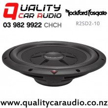 "Rockford Fosgate R2SD2-10 10"" 400W (200W RMS) Dual 2 ohm Voice Coil Shallow Car Subwoofer Easy Finance"