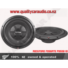 "Rockford Fosgate R2SD2-12 12"" 500W  Dual 2-ohm voice coils Shallow Subwoofer"