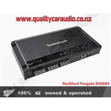 Rockford Fosgate R300X4 4-Channel 300W RMS Class-AB Prime Series Amplifier - Easy LayBy