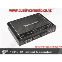 Rockford Fosgate R400-4D 4-Channel 400W RMS Class-D Prime Series Amplifier - Easy LayBy