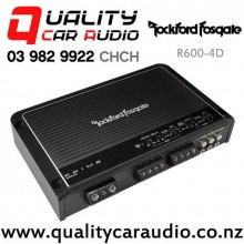 Rockford Fosgate R600-4D  600W  RMS 4 Channel Class-D Prime Series Car Amplifier with Easy Finance