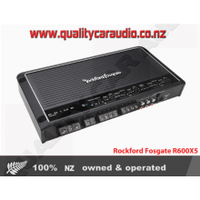 Rockford Fosgate R600X5 5-Channel 600W RMS Class-AB Prime Series Amplifier