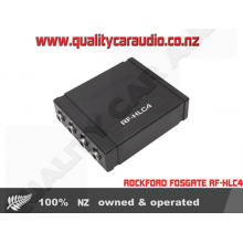 ROCKFORD FOSGATE RF-HLC4 4 CH SPEAKER LEVERL TO RCA OUTPUT