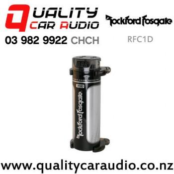 Rockford Fosgate RFC1D 1 Farad Digital Capacitor with Easy