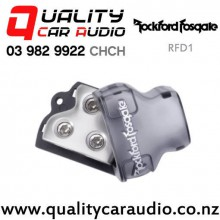 Rockford Fosgate RFD1 0 Gauge Input to Dual 0 AWG Output Distribution Block with Easy Finance