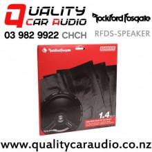 Rockford Fosgate RFDS-SPEAKER Sound Deadening Speaker Kits in Black with Easy Finance