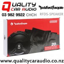 Rockford Fosgate RFDS-TRUNK Sound Deadening Trunk Kits in Black with Easy Finance