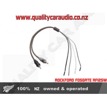 Rockford Fosgate RFIF2SW Speaker Line to Female RCA Adapter