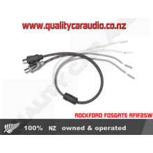 ROCKFORD FOSGATE RFIF2SW RCA SPLICES 2 FEMALE ENDS ADAPTS HIGH TO LOW LEVEL RCA CONNECTORS