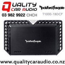 Rockford Fosgate T1000-1BDCP 1000W RMS Mono Channel Class-BD Power Series Car Amplifier with Easy Finance