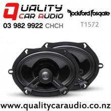 "Rockford Fosgate T1572 5x7"" 140W (70W RMS) 2 Way Coaxial Car Speakers (pair) with Easy Finance"
