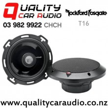 """Rockford Fosgate T16 6"""" 140W (70W RMS) 2 Way Coaxial Car Speakers (pair) with Easy Finance"""