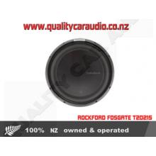 """ROCKFORD FOSGATE T2D215 15"""" 1200W 2 Ohm SUB - Easy LayBy"""