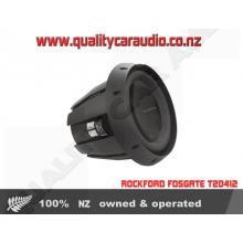 """ROCKFORD FOSGATE T2D412 12"""" 1200W 4 Ohm SUB - Easy LayBy"""