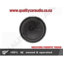 """ROCKFORD FOSGATE T2D415 15"""" 1200W 4 Ohm SUB - Easy LayBy"""