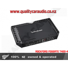 Rockford Fosgate T400-4 400W 4/3/2 Channels Bridgeable Class AB Car Amplifier with Easy Layby