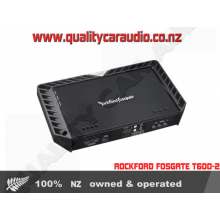 Rockford Fosgate T600-2 600W 2/1 Channels Bridgeable Car Amplifier with Easy Layby
