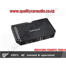 Rockford Fosgate T600-2 600W 2/1 Channels Bridgeable Car Amplifier with Easy Layby