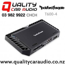 Rockford Fosgate T600-4 300x2 RMS 4/3/2 Channels Bridgeable Class AB Car Amplifier with Easy Finance