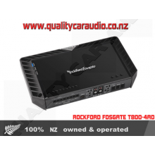 ROCKFORD FOSGATE T800-4AD POWER 800W 4/3/2 CHANNEL CLASS-AD BRIDGE AMPLIFIER with Easy LayBy