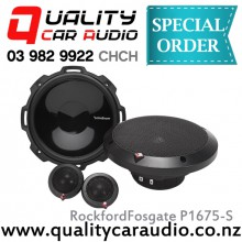 "RockfordFosgate P1675-S 6.75"" 120W (60W RMS) Component Car Speakers (Pair) with Easy LayBy"