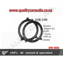 SAK-1206 Speaker Adaptor Kit for BMW 3 99 on 130MM - Easy LayBy