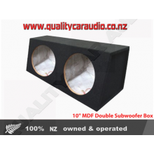 "SB210 10"" MDF Double Subwoofer Box"