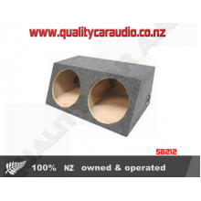 """Double 12"""" Subowoofer box"""