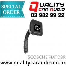 SCOSCHE FMTD3R Digital FM Transmitter Flex Neck - Easy LayBy