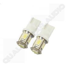 QCA-LED002 5 LED Parking Light Bulb T10