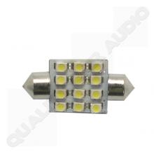 QCA-LED008 12 LED Dome Light Bulb (36mm)