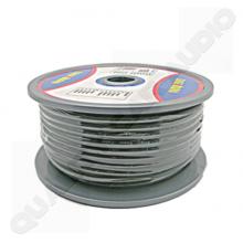 QCAPCAB007 Oxygen Copper 8 gauge power cable (black core)