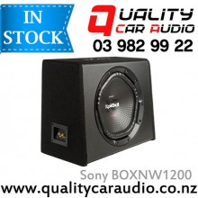 "SONY BOXNW1200 12"" 1800W Single Voice Coil  Subwoofer in Sony Enclosure with Easy LayBy"