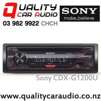 Sony CDX-G1200U CD USB AUX NZ Tuners 2x Preouts Car Stereo with Easy LayBy