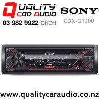 Sony CDX-G1200U CD USB AUX NZ Tuners 2x Pre-outs Car Stereo with Easy Finance