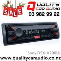 Sony DSX-A200UI USB AUX iPod NZ Tuners 1x Pre Out with Easy Layby