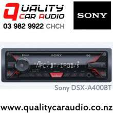 Sony DSX-A400BT Bluetooth USB AUX ipod/Android NZ Tuners 2x Pre Outs with Easy LayBy