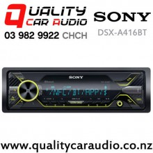 Sony DSX-A416BT Bluetooth USB AUX NZ Tuner 3x Pre Out Car Stereo with Easy Payments