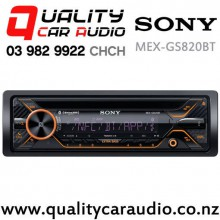 Sony MEX-GS820BT Dual Bluetooth CD USB NZ Tuner 3x Pre Outs 100w x 4 Car Stereo with Easy Finance