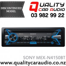 Sony MEX-N4150BT Bluetooth CD USB AUX iPod NZ Tuners 2x Pre Outs with Easy LayBy