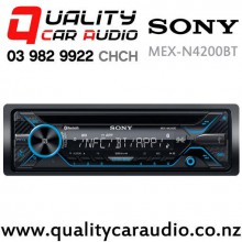 Sony MEX-N4200BT Bluetooth CD NZ Tuners USB&Aux in Apple&Android Head Unit