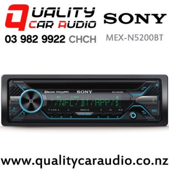 Sony MEX-N5200BT Bluetooth NZ Tuners USB&Aux in Iphone/Android/Pandora Head Unit with Easy Finance