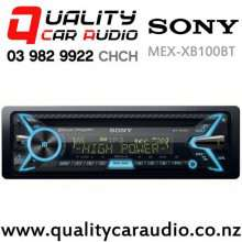 Sony MEX-XB100BT 100Wx4 Bluetooth CD USB AUX NZ Tuners 3x Pre Outs Car Stereo with Easy Finance