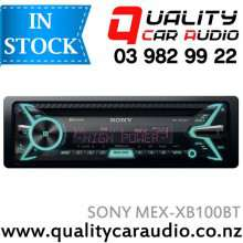 Sony MEX-XB100BT 100Wx4 Bluetooth CD USB AUX NZ Tuners 3x Pre Outs Car Stereo with Easy Layby